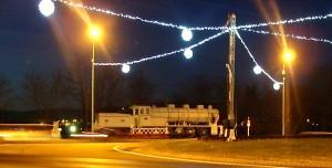 La Loco fête Noël sur le Rond-Point Mériller!